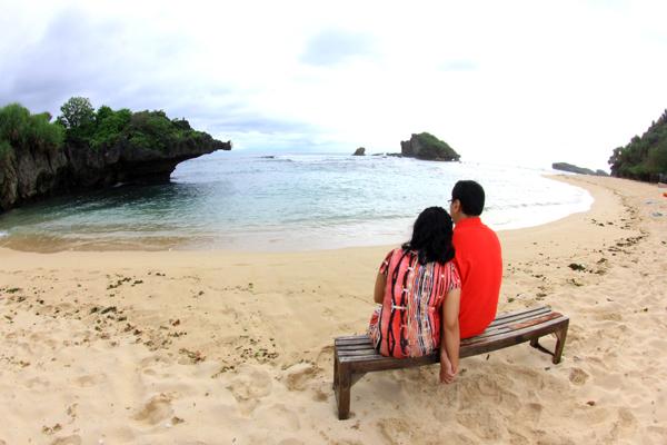 Prewedding Pantai yogyakarta #1