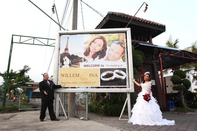 Wedding Yogyakarta Willem & Ina #18