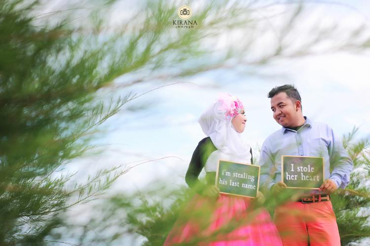 Prewedding Joga Solo Semarang ~ Mina & Adyt #9